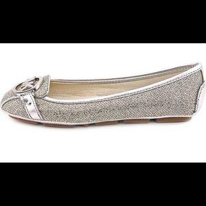 MICHAEL KORSMetallic Silver Glitter Fulton